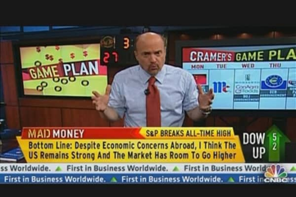 Mad Money's Game Plan For Next Week