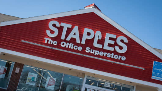Staples Once More A Focus Of M&A Chatter; Report Jolts Stock