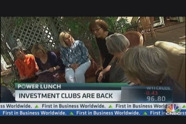 Investment Clubs Are Back