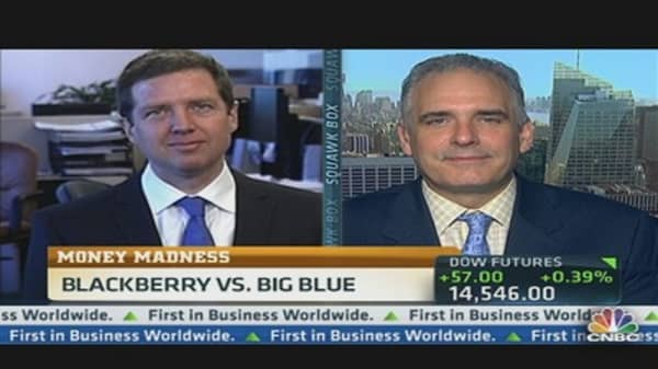 Money Madness: BlackBerry vs. Big Blue