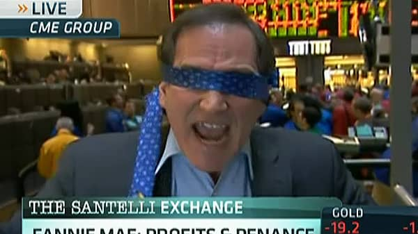 Blindfolds, Profits and Penance, Santelli Style