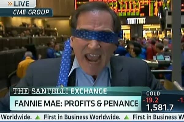 Blindfolds, Profits and Penance, Santelli Style