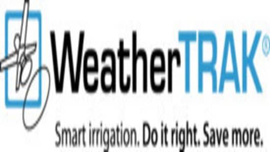 WeatherTRAK Do it right logo