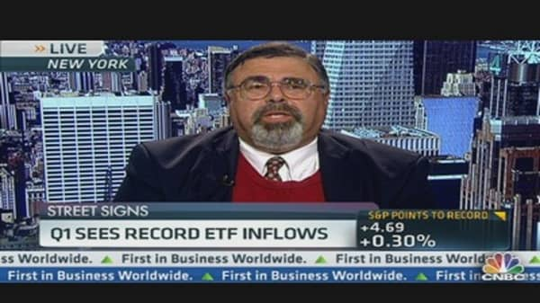 Q1 Sees Record ETF Inflows