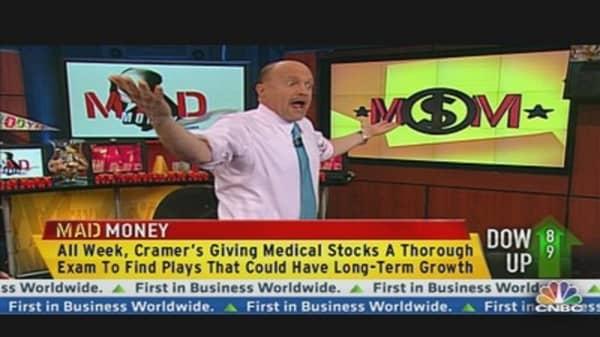 Cramer Gives Medical Stocks a Thorough Exam