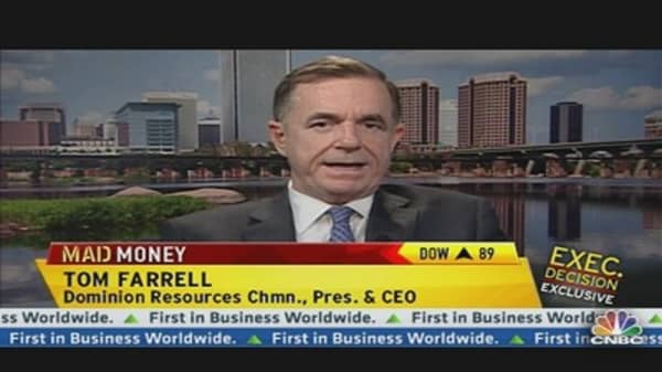 Dominion Resources CEO Talks Nat Gas