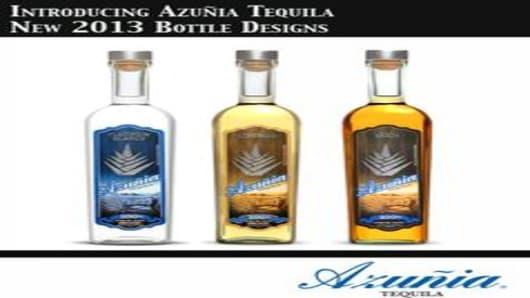 Azunia Tequila New 2013 Bottle
