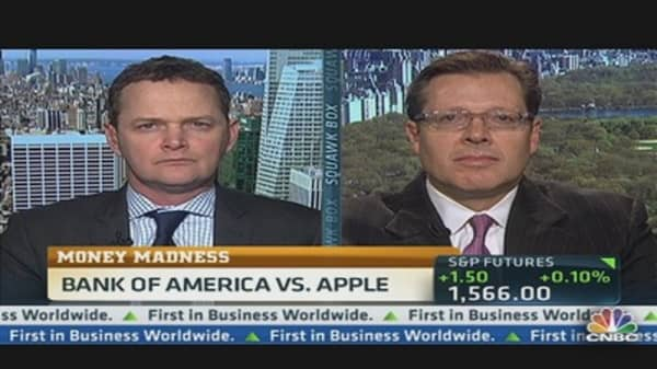 Money Madness: Apple vs. BofA