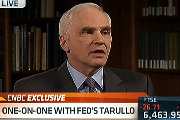 Fed's Tarullo: Haven't Ended 'Too Big to Fail' Yet