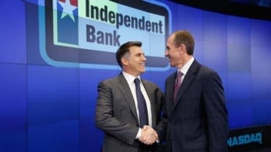 Independent Bank Group Opening Bell