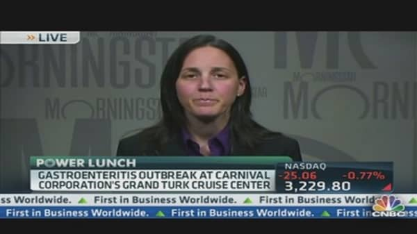Carnival Up About 2.5% Despite Bad News
