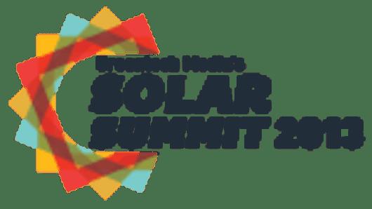 Solar Summit 2013 logo