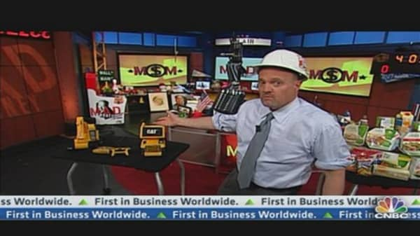 Cramer: Are CAT and CAG Punch Drunk?