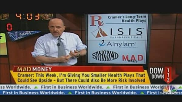Cramer on Game-Changing Health Stocks