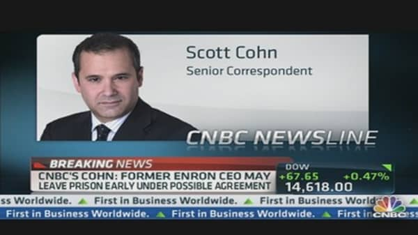 Possible Deal in the Works For Enron's Skilling