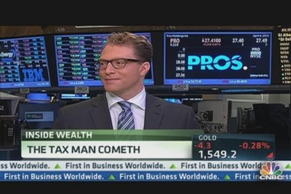 Wealthy, Beware! The Tax Man Cometh..