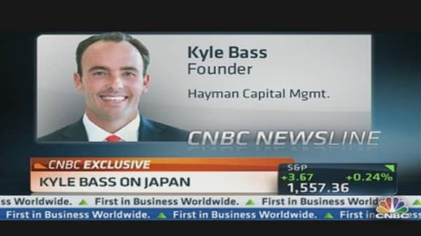 Kyle Bass: Japan About to 'Implode' Under Debt