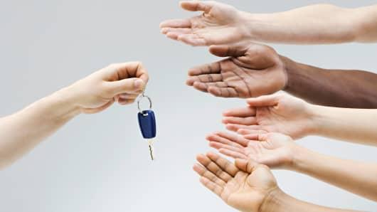 car keys automobiles