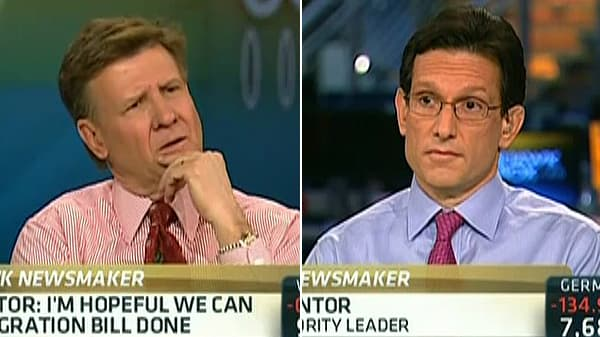 Kernen to Cantor: Don't Oppose Gay Marriage