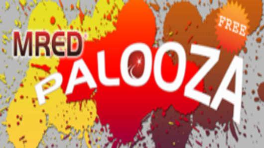 MREDpalooza logo