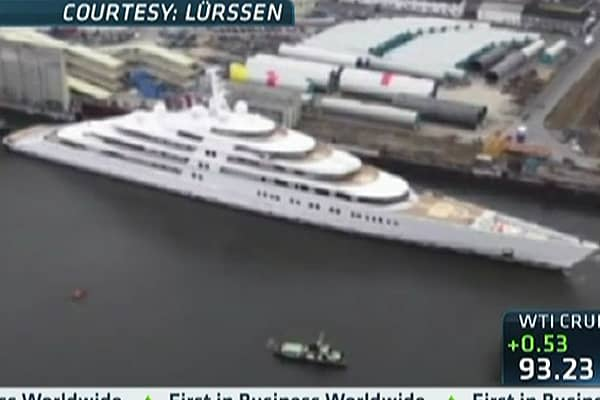 World's Biggest Yacht