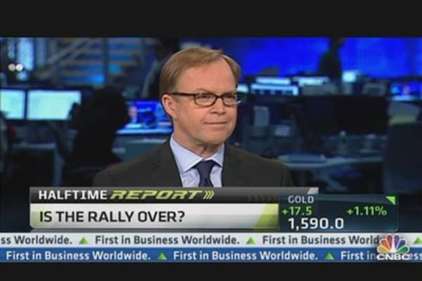 'Technically, Rally Is Ending': Fidelity's Timmer