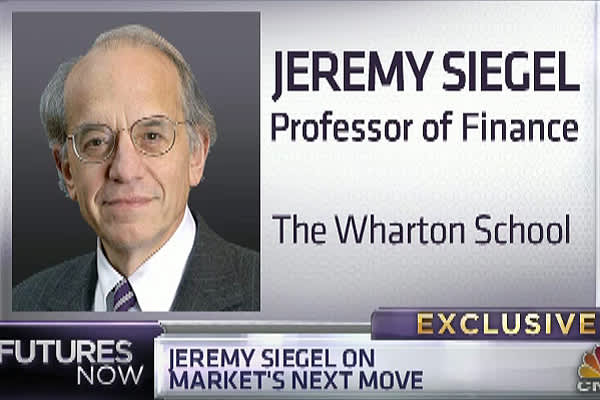 Dow 18,000!? Yes, Jeremy Siegel Says