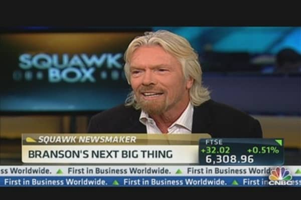 The Next Big Thing(s) for Richard Branson