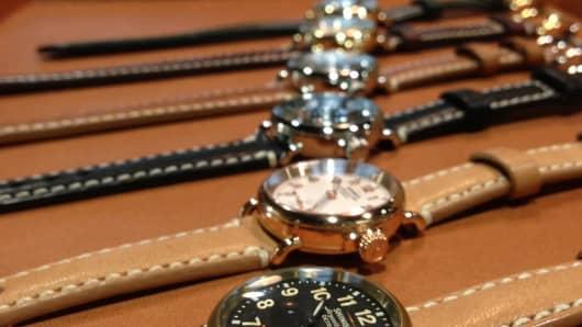 Shinola Watches in Detroit.