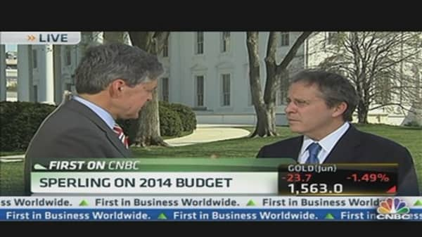 Sperling Speaks on President's Budget