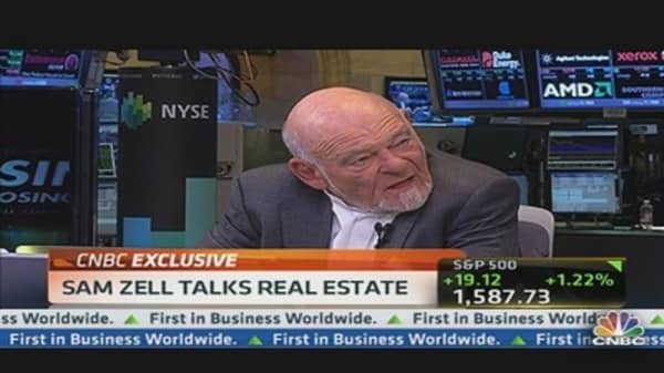 Sam Zell Talks Real Estate