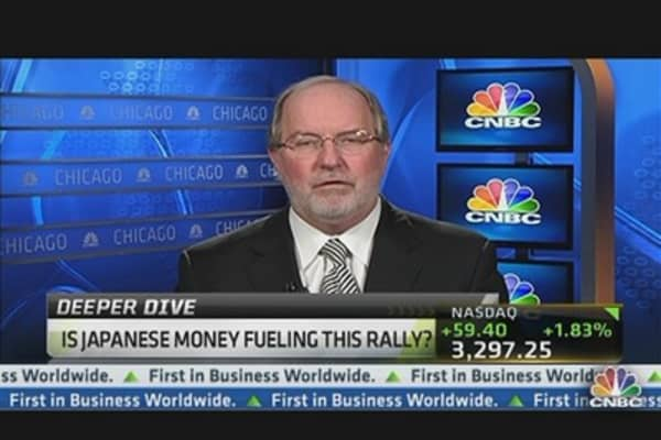 Is Japanese Money Fueling the Rally?