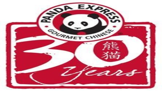 Panda Express 30th logo