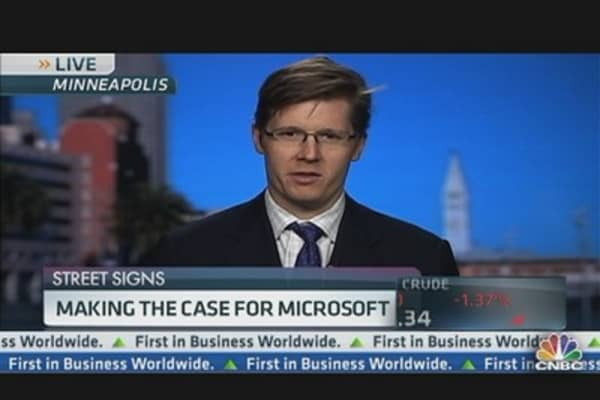 Making the Case For Microsoft