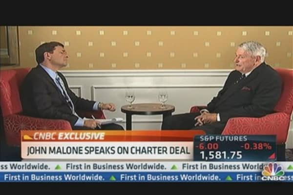 John Malone Speaks Out on Charter Deal