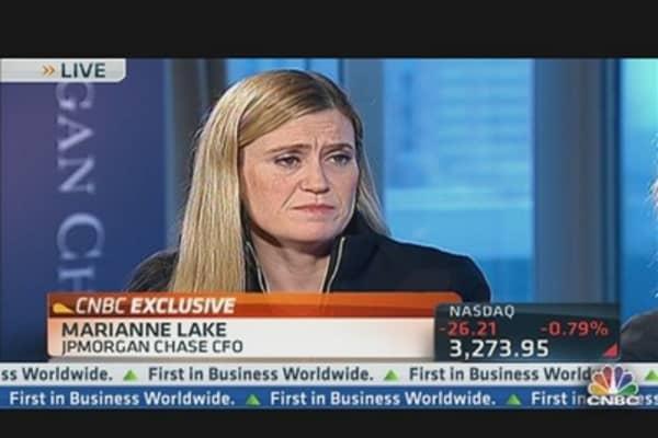 JPMorgan New CFO on Earnings & Outlook