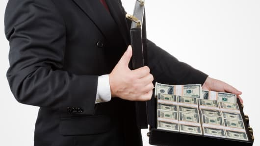 businessman money venture capitalist investor