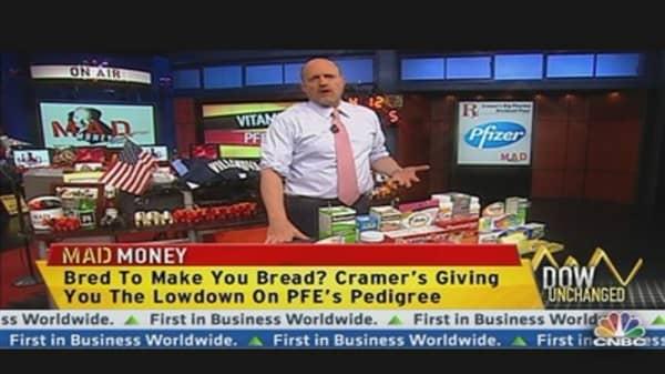 Cramer: Yes, I Like Pfizer