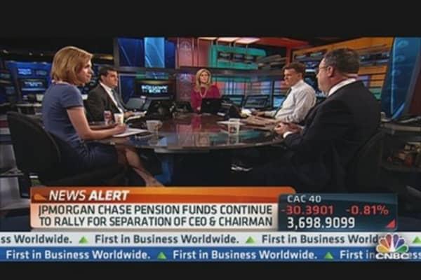 JPMorgan's Pension Fund: Split Leadership Duties