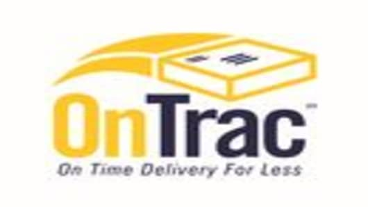 The OnTrac Logo