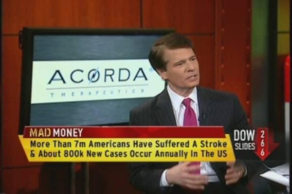 Acorda CEO: Ampyra Helping Stroke Victims Walk Better