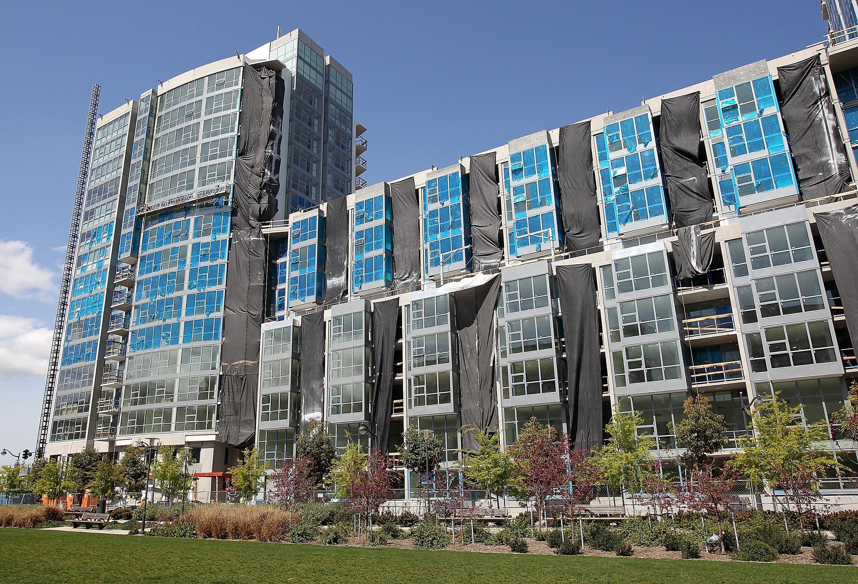 Apartment Building Construction apartment building bubbles as single-family homes struggles