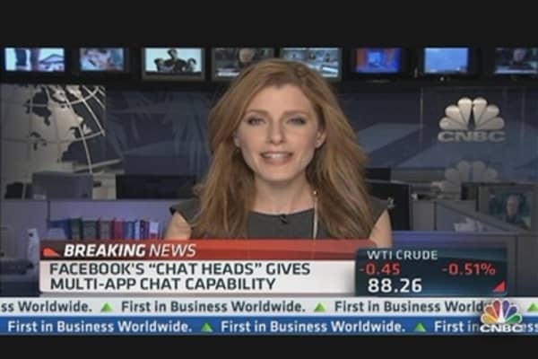 Facebook Bringing 'Chat Heads' to iOS App