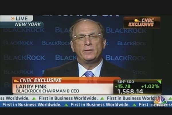 Fink: US Market Exciting Place to Invest