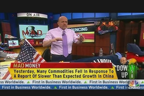 Cramer: Reasons to Worry?