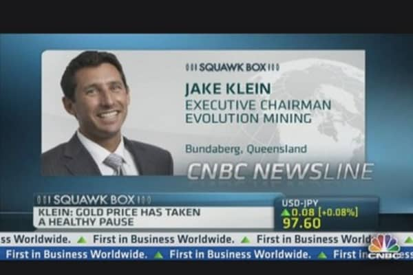 Evolution Mining: Falls in Gold Just a Healthy Pause