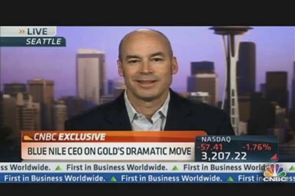 Blue Nile CEO on Gold's Dramatic Move