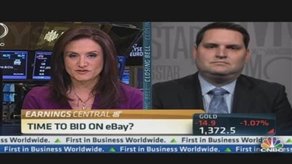 eBay Q1 EPS: $0.63