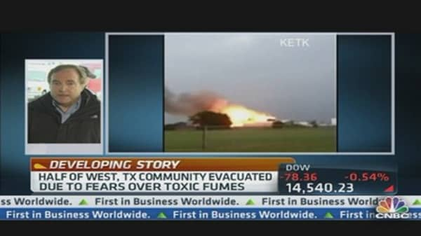 Fertilizer Plant Explosion Update