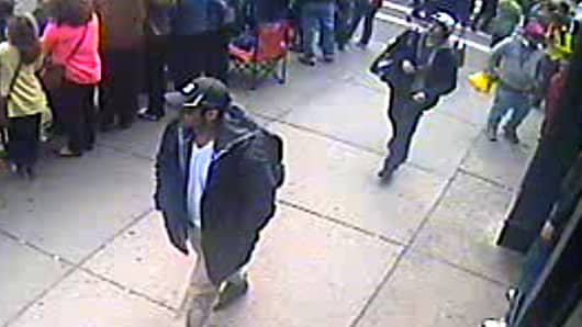 FBI Reveals Boston Suspect Photos